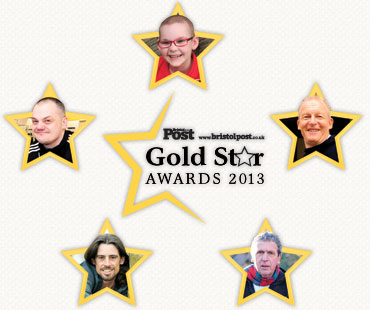 The Gold Star awards logos and photos of five of last year's winners