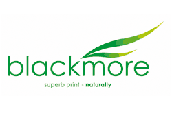 Blackmore - Superb print, naturally logo